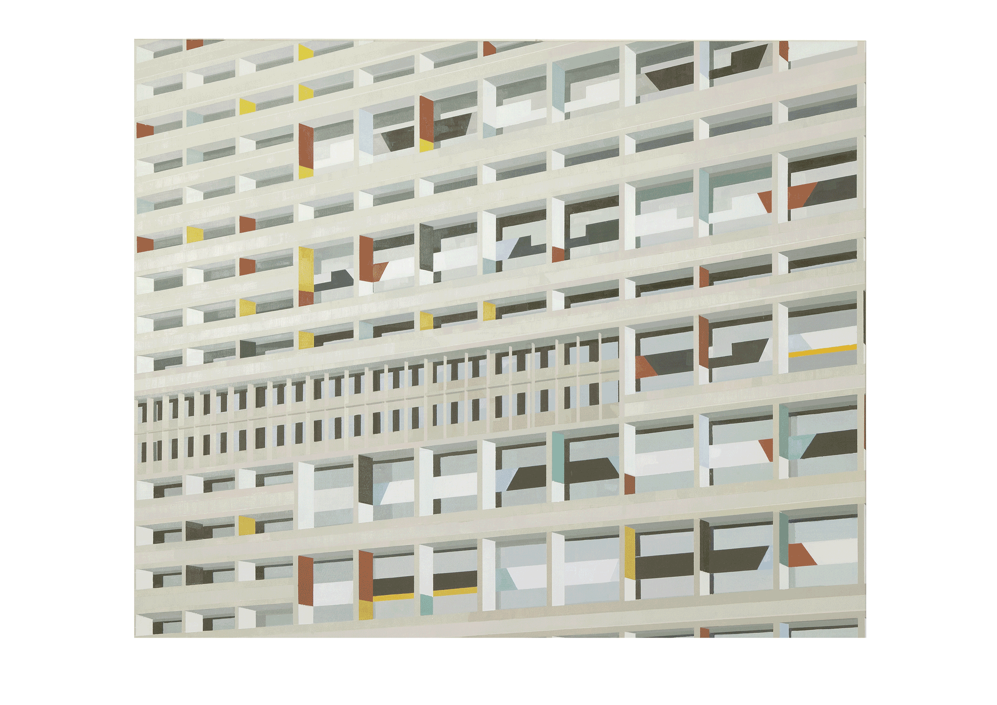 Suyoung Kim Solo Exhibition: Flat Construction